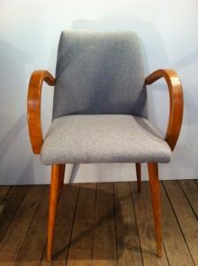 fauteuil bridge flanelle