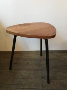 table basse tripode annes 50 mini table tripode vintage paris 17 lartetlafaon