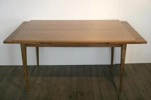 table de salle manger annes 50 en bois