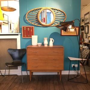 décoration vintage meubles années 50 commode lartetlafacon