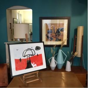 lartetelafacon mobilier vintage batignolles oeuvresdart affiches vases lampadaires paris