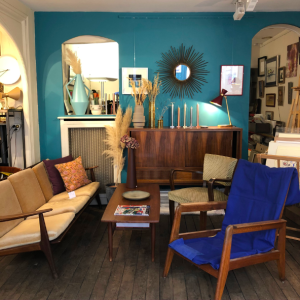 showroom decoration meuble vintage paris batignolles rue des dames lartetlafacon enfilade scandinave