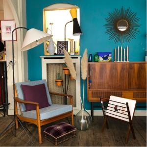 decoration scandinave vintage meuble brocante en ligne fauteuil design vintage scandinave danois lartetlafaçon paris17 batignolles