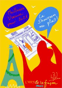 lionel borla illustration galerie paris batignolles lartetlafacon