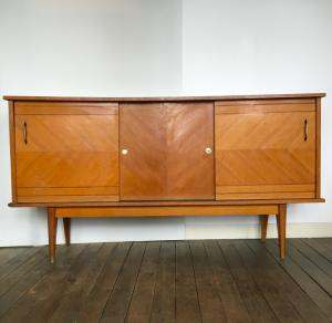 enfilade vintage 180cm annees50 lartetlafacon meuble paris17 batignolles